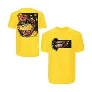 Kevin Harvick Push T Shirt   Kevin Harvick Small