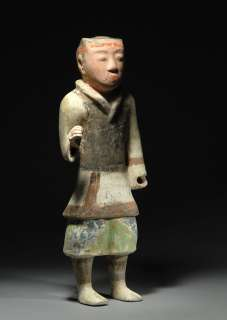 Ancient Chinese Han Dynasty Pottery Soldier Warrior statue Figure