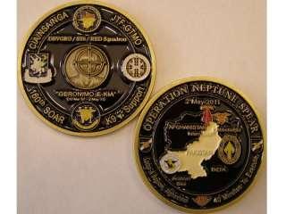 Seal Team Six Bin Laden USS Carl Vinson Challenge Coin