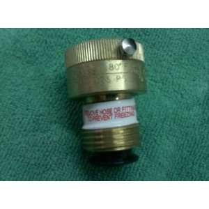 3/4 hose bib vacuum breaker self draining: Home Improvement