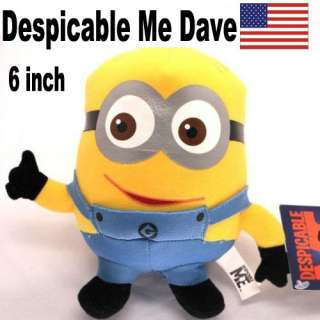 Despicable Me minion plush toys doll us ship