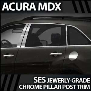 2007 2012 Acura MDX 6pc. SES Chrome Pillar Trim Covers