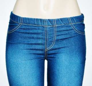 Urban Outfitters O2 Jean Jeggings Hot Summer Blue Denim