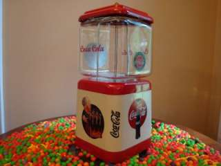 Vintage 1950s Oak *COCA COLA* Gumball & Candy Vending Machine Soda