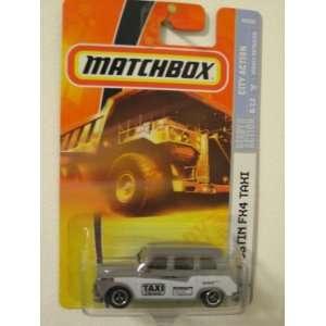 City Action 164 Scale Die Cast Metal Car # 52 Austin FX4 Taxi Toys