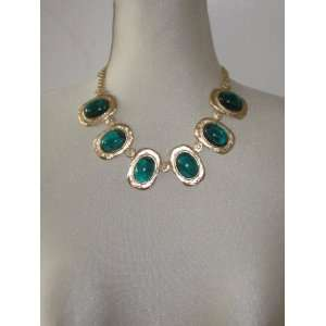 Kenneth Jay Lane 22 karat Gold Plated Necklace with