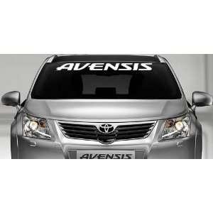Toyota Avensis Windshield Vinyl Banner Wall Decal Logo Sticker 36 x 3