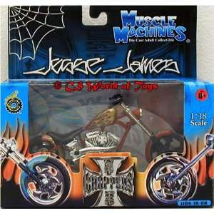 Jesse James (West Coast Choppers) El Diablo 2 1:18 Scale