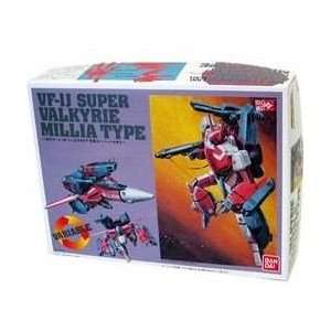 Robotech Macross Bandai 1/100 Scale Transforming Model Kit Super