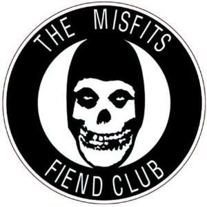 Misfits Fiend Club Tattoo: Home & Kitchen