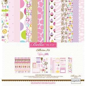 Bella Blvd Baby Girl, Collection Kit Arts, Crafts & Sewing