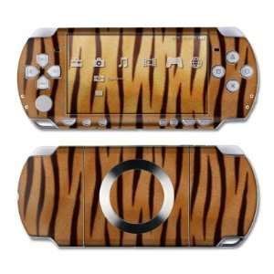 Tiger Stripes Design Skin Decal Sticker for the PS3 Slim