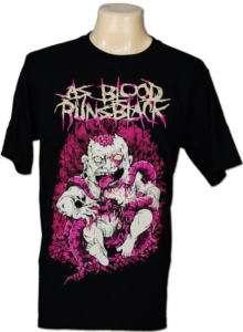 As Blood Runs Black Ernie Flores T Shirt Men M