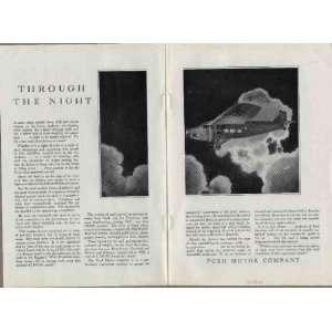 plane drones overhead  1928 FORD MOTOR COMPANY Tri Motor