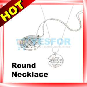 Beautiful Girls Fashion Korean Style Round Tag LOVE Letter Necklace