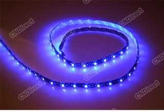 100CM SMD 3528 60 LED Flexible Strips Car Grill Lights Lamp Bulbs 12V