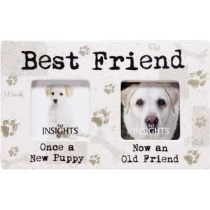 Insights Then And Now Frame Best Friend Dog Frame