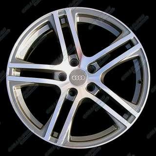 AUDI RS6/RS4/A4/A5/S4/S6/A6/Q5 Wheels 18x8.0 Rims with Central Caps  4