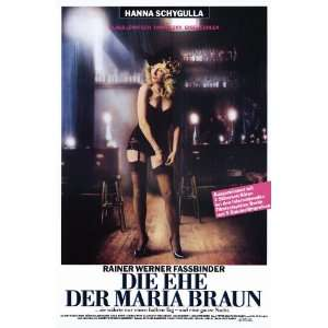 Marriage of Maria Braun Movie Poster (11 x 17 Inches