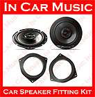 Toyota Auris Front Door + Rear Side Panel Door 17cm 2 Way Car Speaker