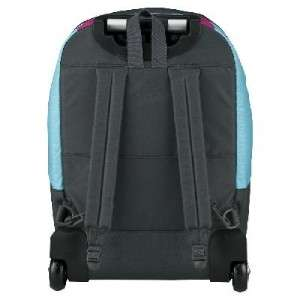 Trans by Jansport Cloud Rolling Backpack Fuchsia Multi