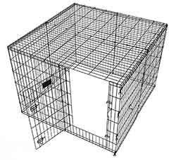 MidWest Dog Exercise Pen Playpen Wire Mesh Top 540 WM