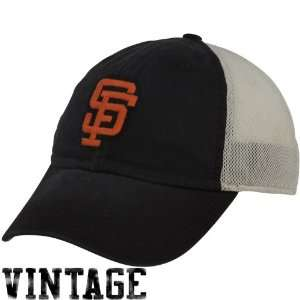 Nike San Francisco Giants Black Heritage 86 Cooperstown Vintage