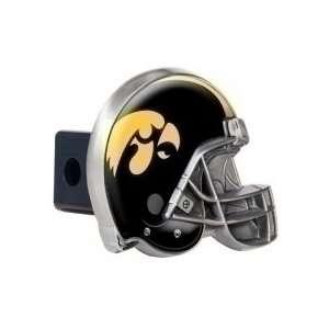 Iowa Hawkeyes Metal Helmet Trailer Hitch Cover Sports