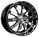 22 HD AUTOBAHN GLOSS BLACK MACHINED WHEELS RIMS 5X115 +25MM MAGNUM