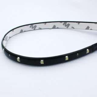 12 SMD LED Flexible Strips Car Grill Lights Lamp Bulbs 12V Waterproof