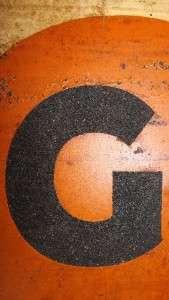 MARATHON GASOLINE & OIL TIN SIGN, METAL SIGN, TRANSCONTINENTAL OIL