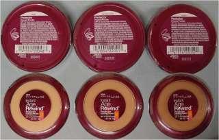Instant Age Rewind Custom Face Perfector Cream Compact Foundation