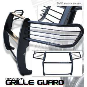 07 08 TOYOTA TUNDRA REGULAR / DOUBLE / CREWMAX CAB BLACK BRUSH GRILLE