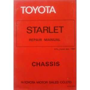 Toyota Starlet Repair Manual Chassis KP6_Series Jun.