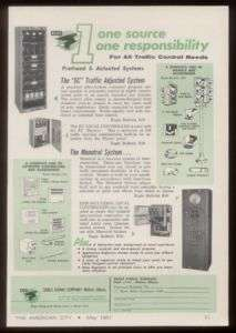 1961 Eagle Signal traffic stop light equipment trade ad