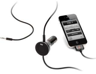 DUALCONNECT FM TRANSMITTER AUX IN CHARGER IPHONE IPOD TOUCH NEW