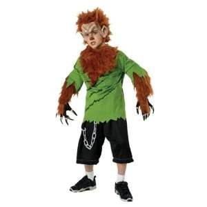 Halloween Costumes Deluxe Wolf Man Childs Costumes Toys