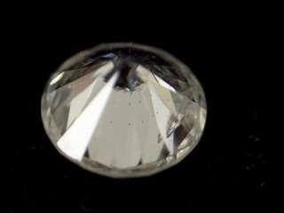 22 ct loose Round Brilliant Cut White Diamond SI2 H