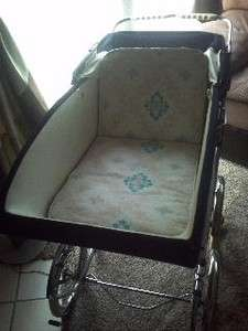 Vintage Peg Perego Baby Stroller Early 1950s Italy Good Condition