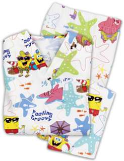Nickelodeon Spongebob Medical Scrub Uniform Set S 2 4