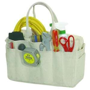 Natural Canvas Rigger Bag w/ 24 Pockets Wrench Tools Pliers hammer