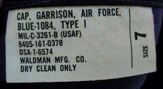 1965 Vietnam War USAF Air Force Garrison Cap w/ US Disk