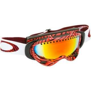 3f3e2569e64 ... NEW Oakley A Frame Goggle Shaun White Illusion Red Fire Iridium 57 231  ...