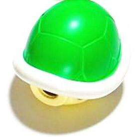 SUPER MARIO PUSH RACER KART MASCOT GREEN TURTLE SHELL