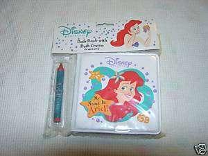 Disney Princess Ariel Bathtime Bubble Book W/Crayon