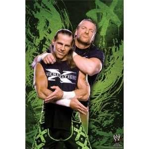 WWE DX SHAWN MICHAELS POSTER 22.5x34 #9198