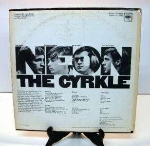 The Cyrkle   Neon 1967 LP, vinyl album record Nice