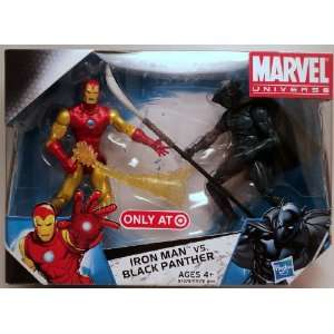 Two Pack Exclusive IRON MAN vs. BLACK PANTHER C8/9 Toys & Games