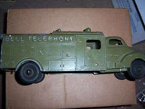 BELL TELEPHONE TRUCK HUBLEY TOYS # 504