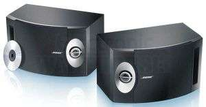 BOSE 201 SERIES V STEREO BOOKSHELF SPEAKERS BLACK NEW 017817305396